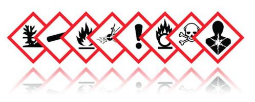 Faresymboler for kjemikalier