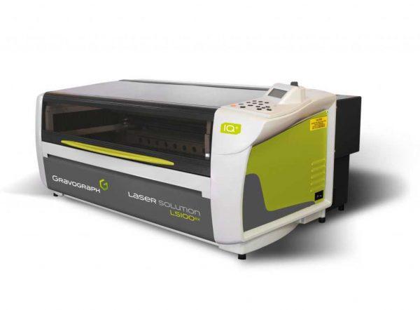 LS100Ex produksjonsmaskin for gravering, merking, kutting og skjæring i alle type materialer
