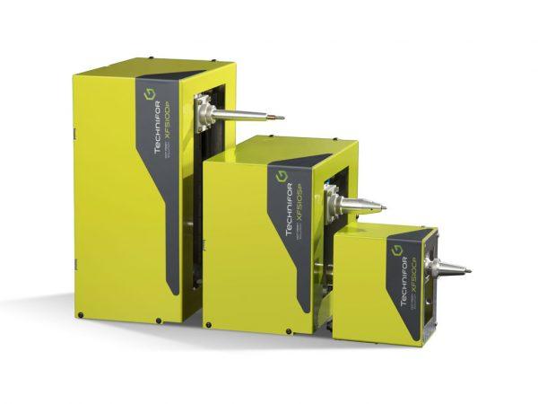 XF510 Elektromekanisk nålpräglare i ulike størrelser